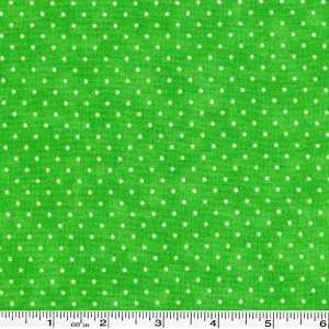 Moda Essential Dots - Grass Green