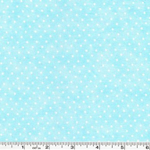 Moda Essential Dots - Baby Blue