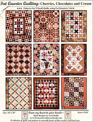 Cherries, Chocolates & Cream Quilt Pattern