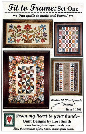 Fit to Frame: Set One Quilt Pattern