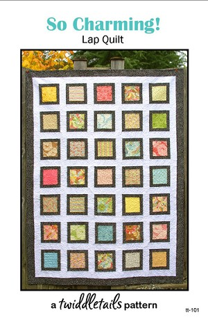 So Charming!  Quilt Pattern PDF