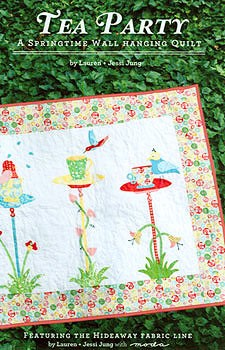 Tea Party Wall Hanging Quilt Pattern