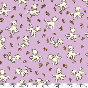 Toy Chest Little Lambs - Purple