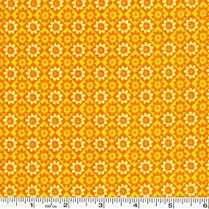 Penny Lane Geometric Daisies - Yellow