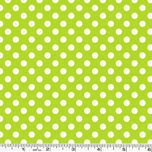 Small Le Creme Dot - Lime