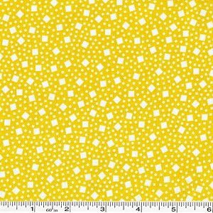 Penny's Pets Squares & Dots - Yellow
