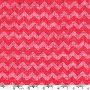 Ziggy Chevron - Strawberry