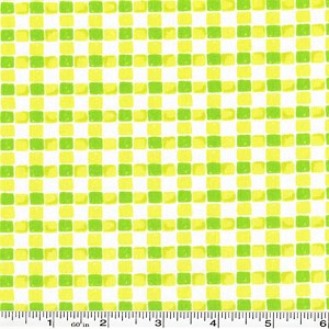 "Going Places Plaid - Lime - 28"" bolt end"