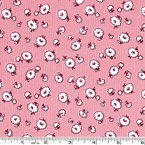 Storybook Vacation Tumbling Daisy - Pink