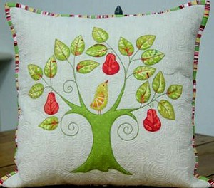 First Day of Christmas Pillow Cover Pattern