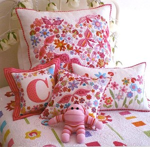 Pretty 'n Pink Pillow Cover Pattern