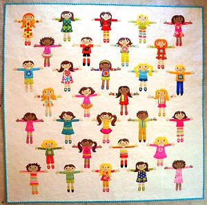 Worry Dolls Quilt Pattern